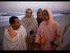 Bhakti Swarupa Damodara Swami with Srila Prabhupada