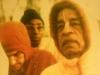 Bhakti Tirtha Swami with Srila Prabhupada